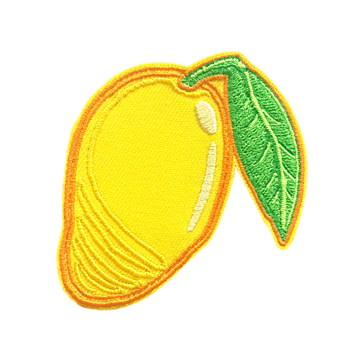Mango Embroidered Patch
