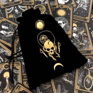 Load image into Gallery viewer, Marigold Night Tarot Pouch