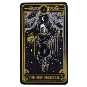 """The High Priestess"" Large Embroidered Back Patch"