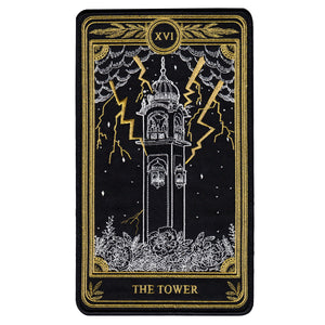 """The Tower"" Large Embroidered Back Patch"