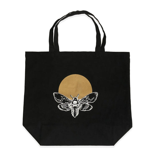Canvas Tote - Moth & Moon