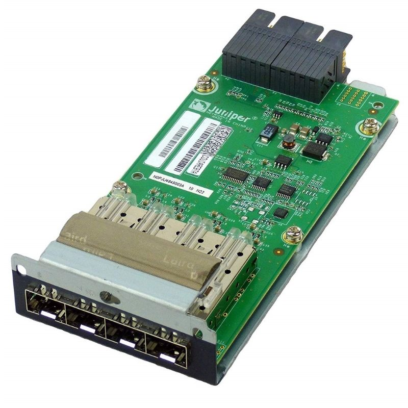 NEW Juniper EX-UM-4SFP 4 Port SFP Uplink Transceiver Module