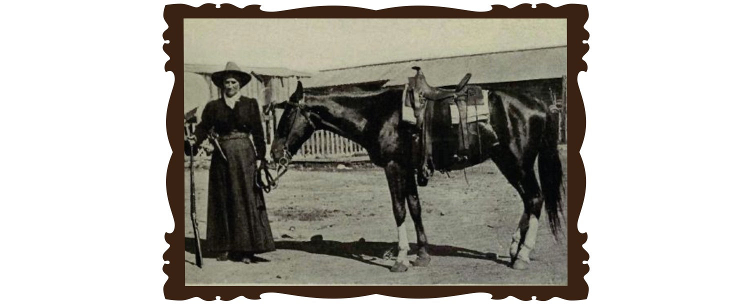 Calamity Jane et son cheval