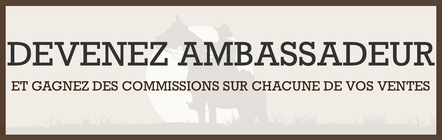 Devenez Ambassadeur The Western Shop