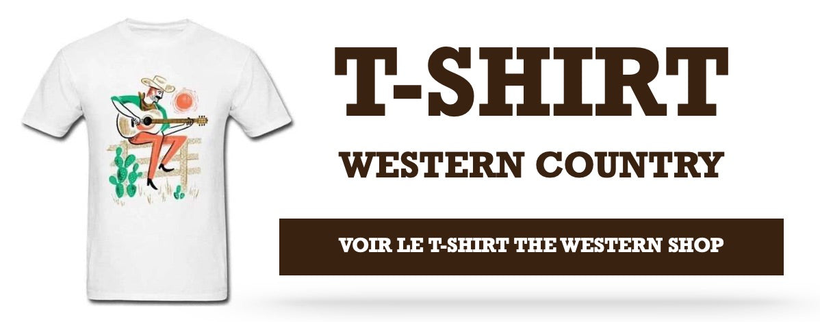 T-Shirt Western Country