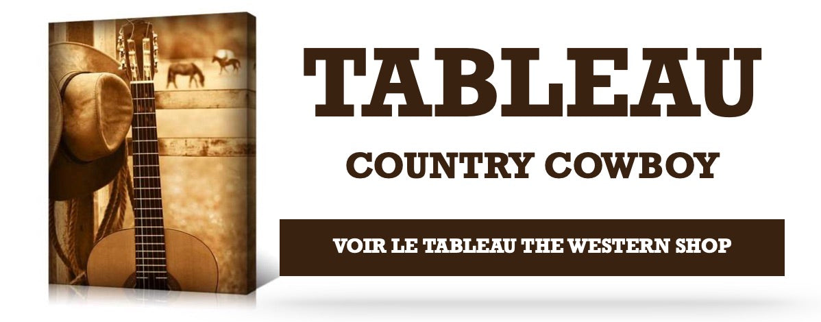 Tableau cowboy country
