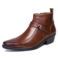 BOOTS WESTERN HOMME SIMILI CUIR