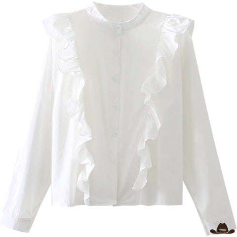 Blouse Blanche Country