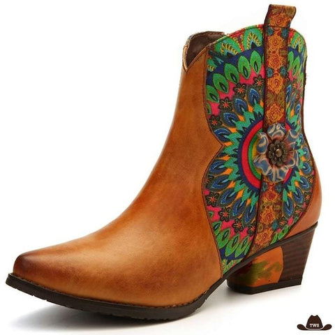 Boots Style Western Femme