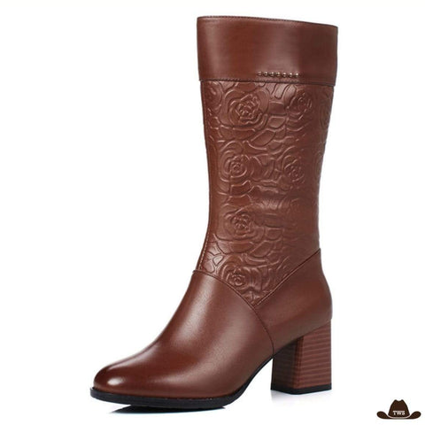Bottes Style Country Femme