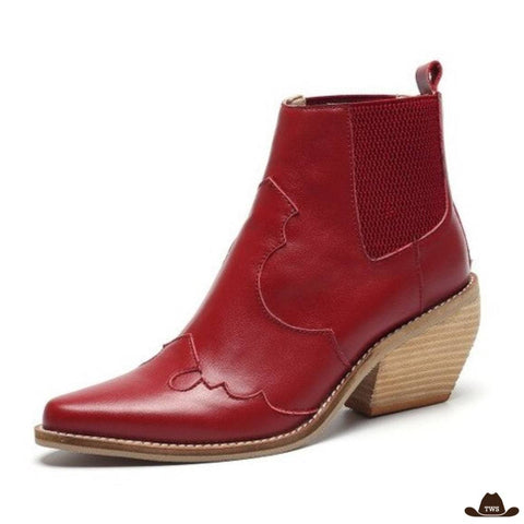 Bottines Country Femme
