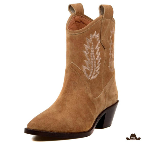 Bottines Cowboy Daim