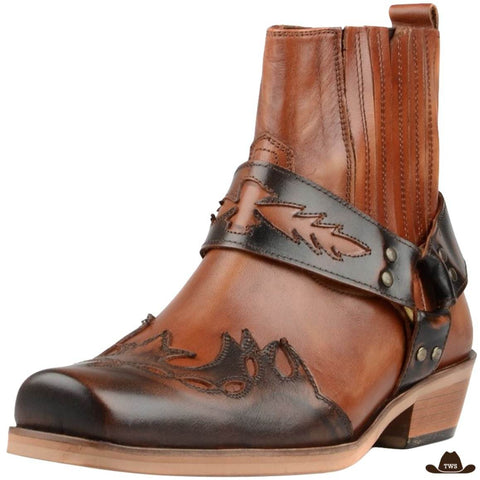 Bottines Marron Country Danse