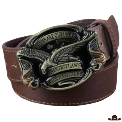 Ceinture Cowboy Pistolet - The Western Shop