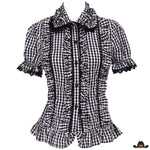 Chemise Country Femme Carreaux