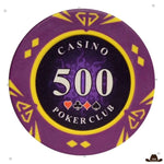 Jetons de Poker Casino 500