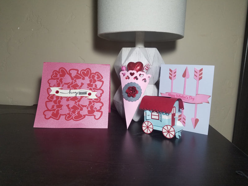 Cricut Design Space Valentine Cone Tutorial and store news