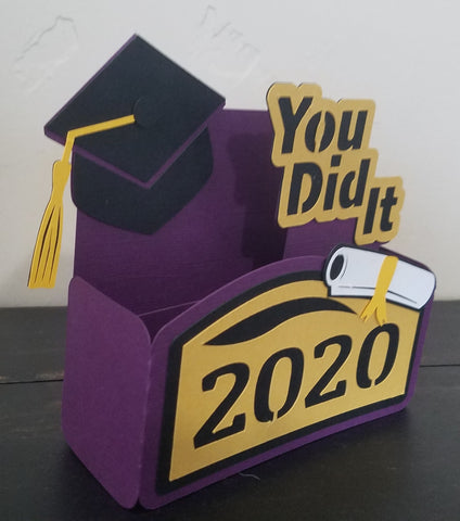 Box card for Graduation