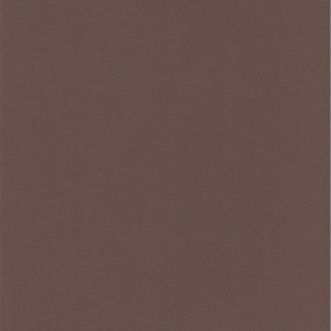 12x12 and 8.5x11 ColorMates Deep Creamy Cocoa Cardstock