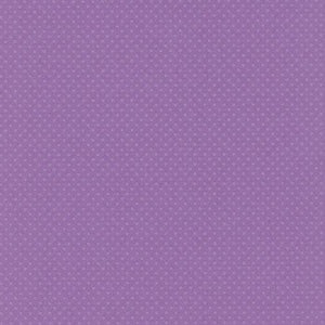 12x12 and 8.5x11 Bazzill Basics Grape Jelly Swiss Dot Cardstock