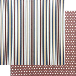 Photo Play Collection Man Card Paper 12x12 Stripe