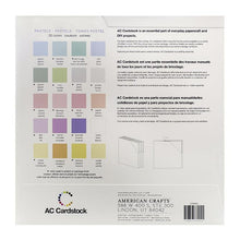 Load image into Gallery viewer, American Crafts Variety Cardstock Pack 12X12 60 Pkg - Pastel