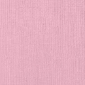 12x12 American Crafts Cardstock Textured Blush