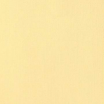12x12 American Crafts Cardstock Textured Butter