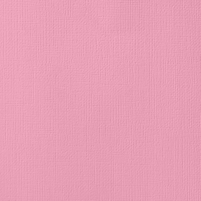 12x12 American Crafts Cardstock Textured Cotton Candy