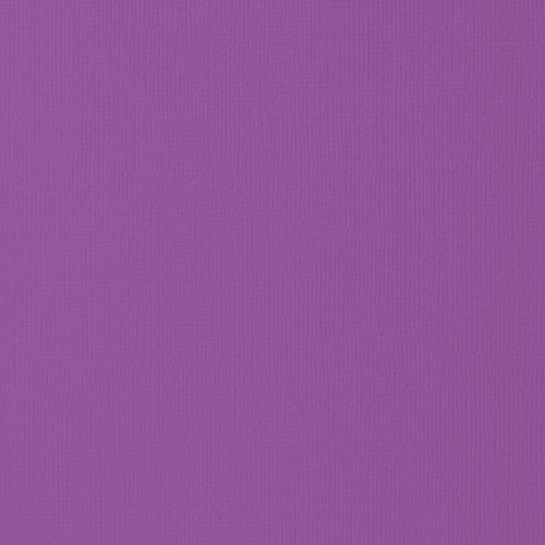 12x12 American Crafts Cardstock Textured Grape- 25 Pack