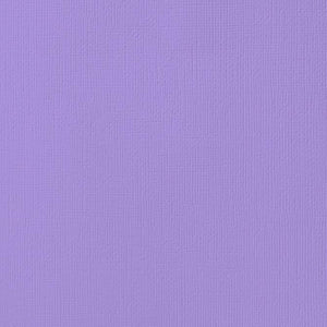 12x12 American Crafts Cardstock Textured Lavender