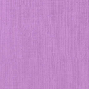 12x12 American Crafts Cardstock Textured Orchid