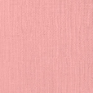 12x12 American Crafts Cardstock Textured Peach