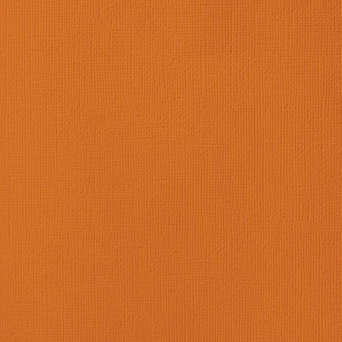 12x12 American Crafts Cardstock Textured Rust
