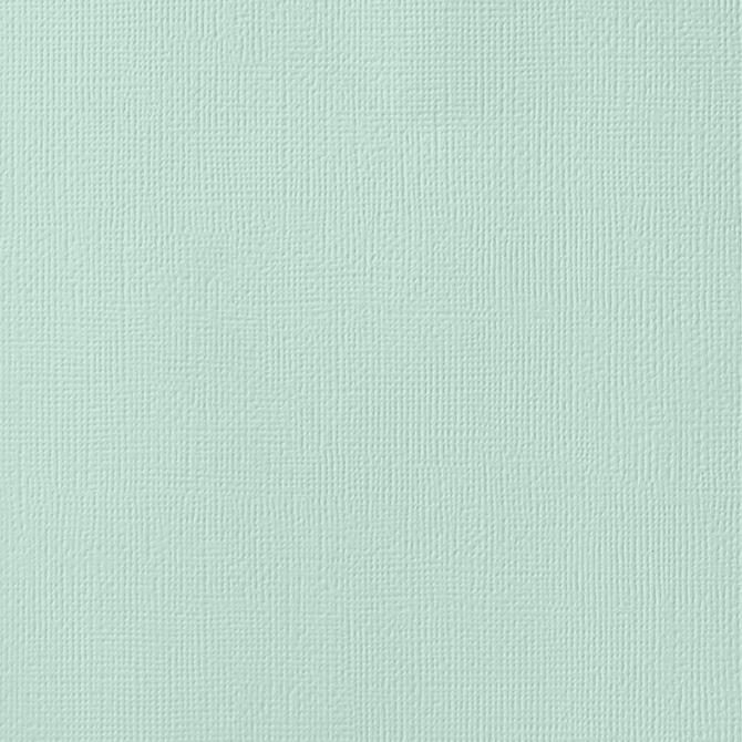 12x12 American Crafts Cardstock Textured Spearmint