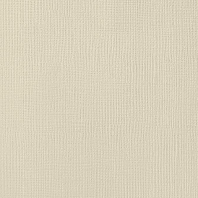 12x12 American Crafts Cardstock Textured Straw