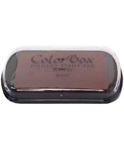 ColorBox Pigment Ink Pad Full Size Brown