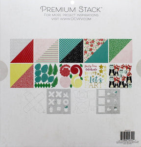 "DieCuts With A View Stacks Paper 12x12"" Paper Party"