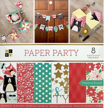 "Load image into Gallery viewer, DieCuts With A View Stacks Paper 12x12"" Paper Party"