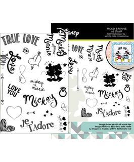 Character World Stamp Disney Mickey & Minnie