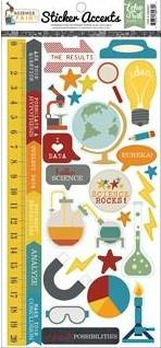 Echo Park Collection Science Fair Sticker 6x12