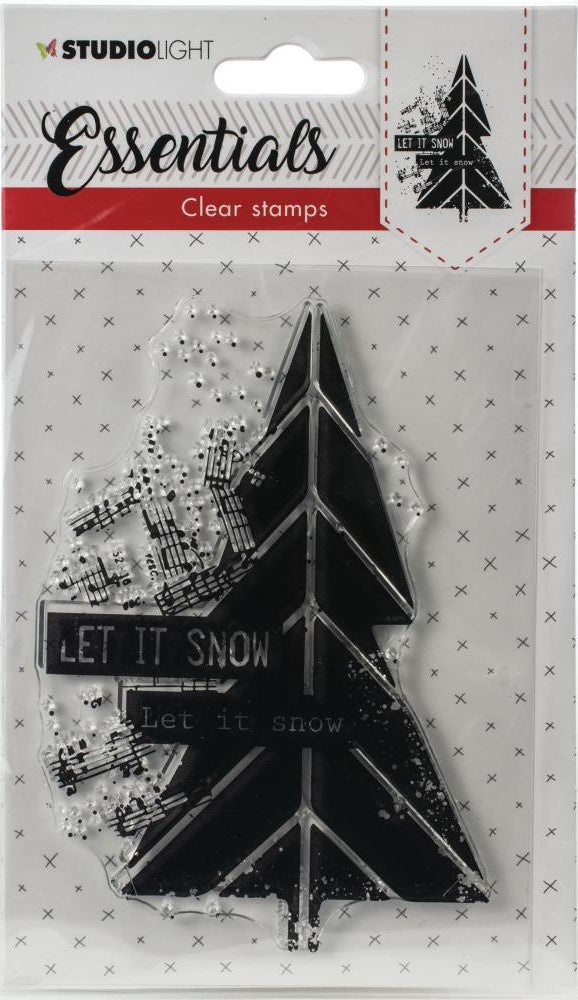 StudioLight Essentials Clear Stamp Let It Snow