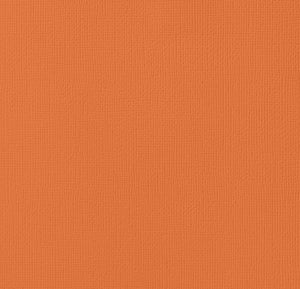 12x12 American Crafts Cardstock Textured Apricot