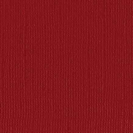 12x12 American Crafts Cardstock Textured Pomegranate