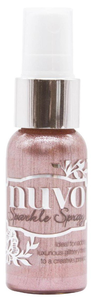 Nuvo Sparkle Spray 1oz Blush Burst
