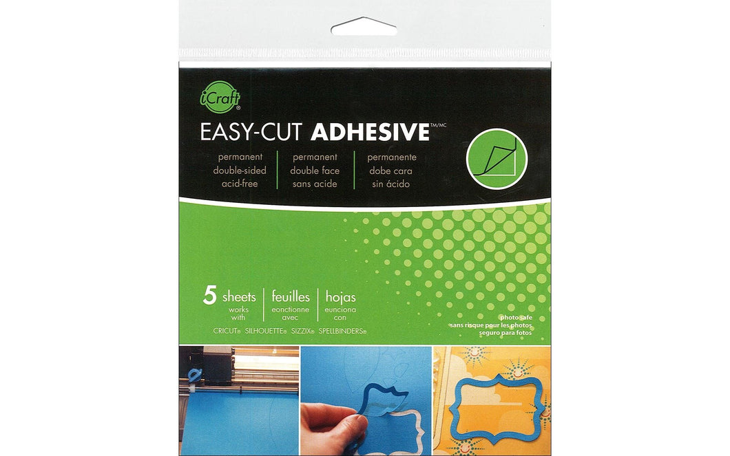 iCraft Easy cut Adhesive Sheets