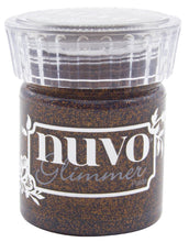 Load image into Gallery viewer, Nuvo Glimmer Paste 1.7oz Rich Cocoa