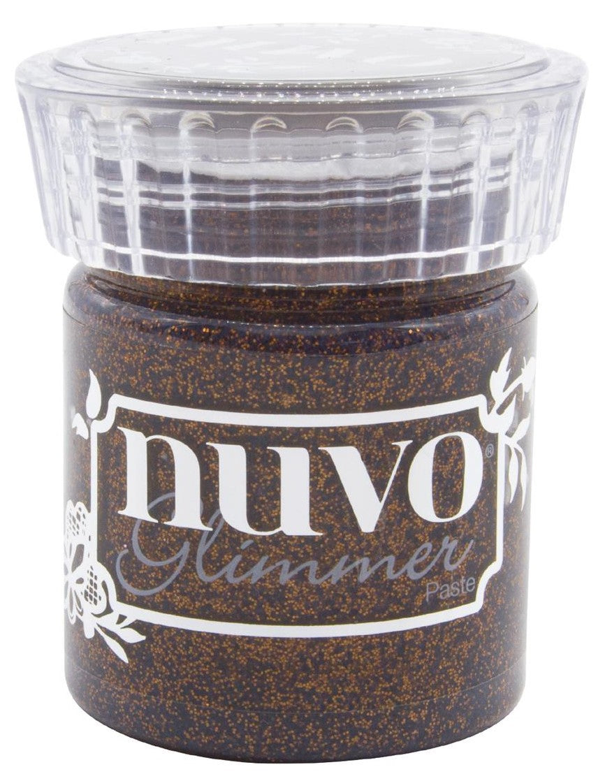Nuvo Glimmer Paste 1.7oz Rich Cocoa