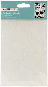 Kaisercraft Embossing Folder Large Flower