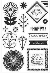 BasicGrey Prism Collection Hero Arts Clear Stamp Shine Bright